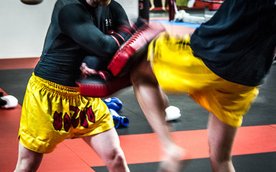 April 29th Muay Thai session with Kru Jordan