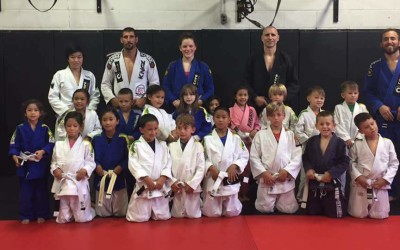 Mississauga BJJ Kids Take a Big Step Forward